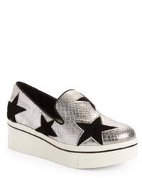 Stella McCartney Binx Stars Platform Slip On Sneaker