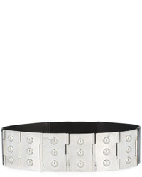 Maison Margiela Studded Panelled Belt