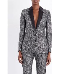 Racil Tuxedo Metallic Jacquard Jacket