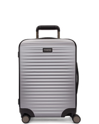 Ermenegildo Zegna Silver Leggerissimo Cabin Suitcase