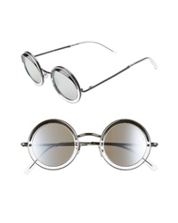 CUTLER AND GROSS 44mm Polarized Round Sunglasses