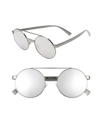 Versace 52mm Round Sunglasses