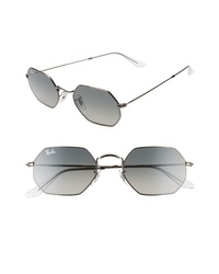 Ray-Ban 53mm Octagonal Sunglasses