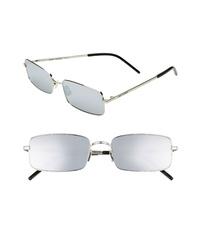 Saint Laurent 56mm Rectangle Sunglasses