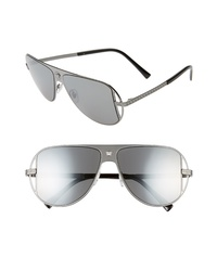 Versace 57mm Aviator Sunglasses