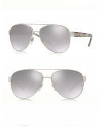 Burberry 57mm Pilot Sunglasses