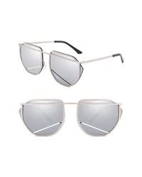 SunnySide LA 67mm Mirrored Sunglasses