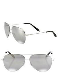 Victoria Beckham Classic Victoria 64mm Aviator Sunglasses