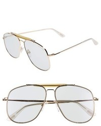 Tom Ford Connor 58mm Aviator Sunglasses