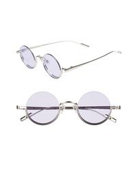 BONNIE CLYDE Desierto 42mm Round Sunglasses