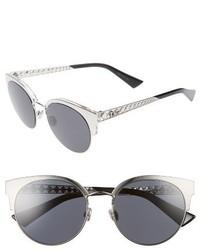 Dior diorama mini 54mm mirrored lens cat eye sunglasses black medium 3723272