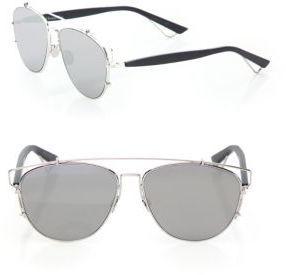 e881abf0bd6a ... Silver Sunglasses Christian Dior Dior Technologic 57mm Pantos Sunglasses  ...