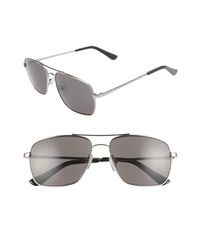 The Rail James 58mm Navigator Sunglasses