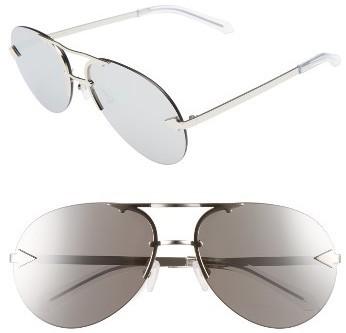 05164433c48 ... Karen Walker Love Hangover 60mm Aviator Sunglasses Silver Clear ...