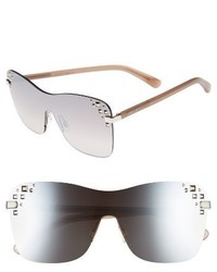 7bce5cf0e6f95 Jimmy Choo Masks 63mm Rimless Shield Sunglasses