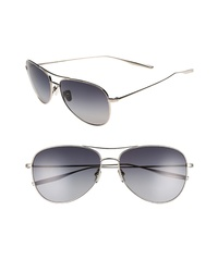 Salt Mckean 59mm Aviator Sunglasses