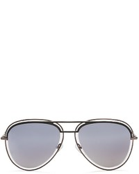 Marc Jacobs Mirrored Floating Aviator Sunglasses 54mm