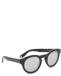 Givenchy Round Studded Mirrored Sunglasses