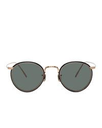 Eyevan 7285 Silver And Grey 787 Sunglasses