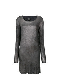 Silver Sweater Dress