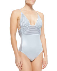 La Perla Tuxedo One Piece Swimsuit