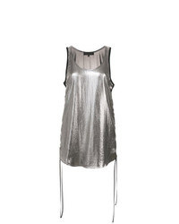 Barbara Bui Gathered Side Tank Top