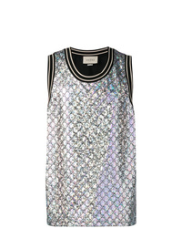 Gucci Quilted Gg Tank Top