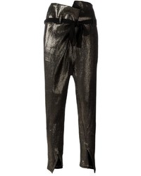 Bow waist tapered trousers medium 3722237