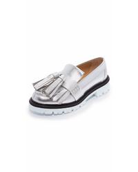 Silver tassel loafers original 11437211