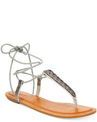Roxy Caspian Tie Up Thong Sandals