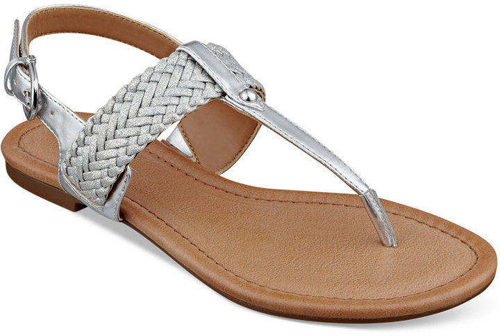 912c4c031 ... Silver Thong Sandals Tommy Hilfiger Saycn Flat Thong Sandals ...