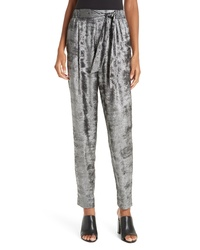Brochu Walker Nives Metallic Velvet Pants
