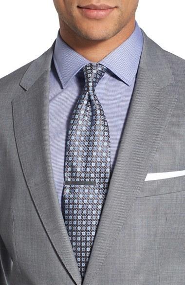 96841269b BOSS Johnstonslenon Trim Fit Stripe Wool Suit, $995 | Nordstrom |  Lookastic.com