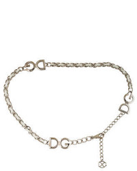 Dolce & Gabbana Chain Link Waist Belt