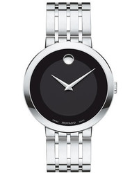 Movado 39mm Esperanza Watch Silver