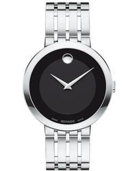 Movado 39mm Esperanza Watch Silver