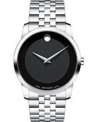 40mm museum classic watch silverblack medium 358259