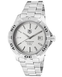 Tag Heuer Aquaracer Automatic Stainless Steel Silver Tone Dial