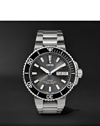 Oris Aquis Hammerhead Limited Edition Automatic 455mm Stainless Steel Watch Ref No 01 752 7733 4183 Set Mb