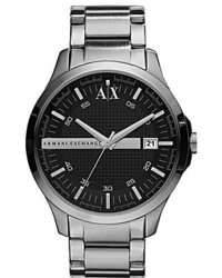 Ax Armani Exchange Stainless Steel 3 Hand Smart Watch