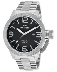 TW Steel Canteen Automatic Stainless Steel Black Dial