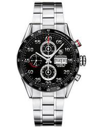 Tag Heuer Carrera Black Aluminum Chronograph Watch