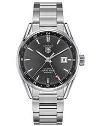 Tag Heuer Carrera Twin Time Stainless Steel Watch