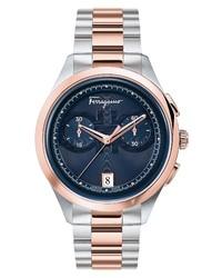 Salvatore Ferragamo Chronograph Bracelet Watch