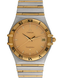 Omega Constellation Two Tone Watch 34mm