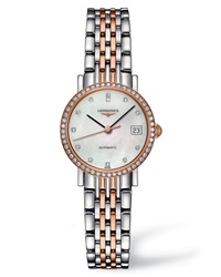 Longines Elegant Automatic Diamond Bracelet Watch