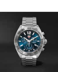 Tag Heuer Formula 1 Chronograph 43mm Stainless Steel Watch Ref No Caz101kba0842