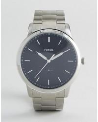 Fossil Fs5307 Bracelet Watch In Silver 44mm