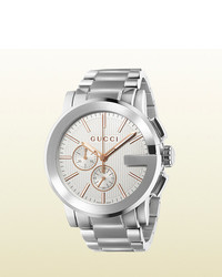 Gucci G Chrono Extra Large Stainless Steel Watch