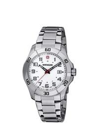 GALLAGHER & FORSYTHE Wenger Stainless Steel Alpine Watch